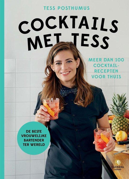 Boek cover Cocktails met Tess van Tess Posthumus (Hardcover)