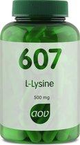 AOV 607 L-Lysine (500 mg) -  90 vegacaps - Aminozuren - Voedingssupplementen