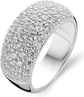 TI SENTO Milano Ring 1546ZI - Maat 56 (17,75 mm) - Gerhodineerd Sterling Zilver