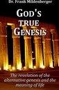 Omslag God's true Genesis