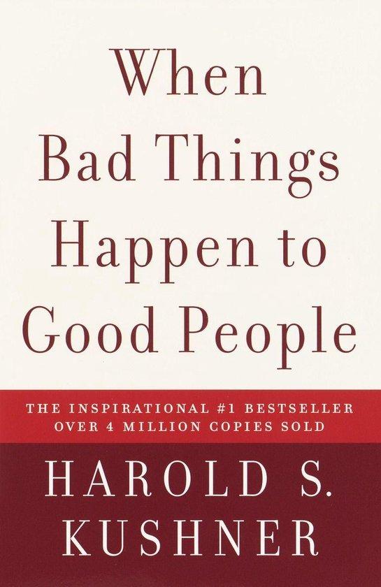 Omslag van When Bad Things Happen to Good People