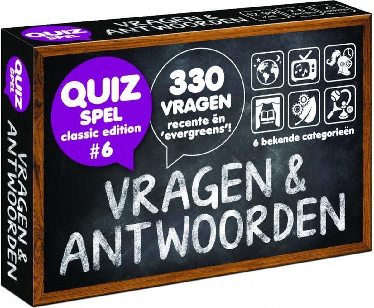 Vragen & Antwoorden #6 - Trivia Quiz en Aanvulset - Puzzles & Games