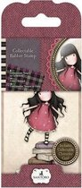 Gorjuss: Collectable Mini Rubber Stamp - Santoro - No. 2 New Heights (GOR 907302)