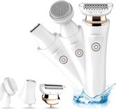 Revahs Ladyshaver 3-in-1 - Trimmer - Elektrische Gezichtsborstel - Ladyshave - Precisietrimmer - Scheerapparaat en Trimmer Vrouw Bikinilijn - Reinigingsborstel gezicht - Bikinitrimmer - Face Brush - Facial Cleansing Brush - Moederdag cadeautje