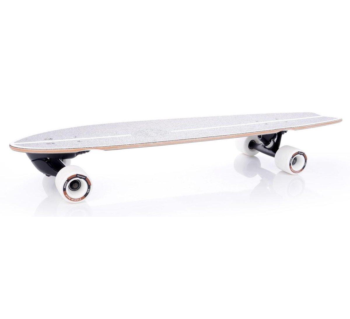Tempish Longboard Surfy 82,5 X 23,5 Cm Wit/bruin