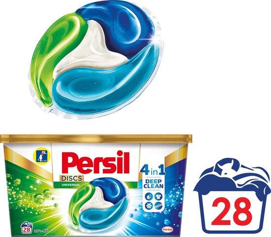 Persil Discs Universal Wascapsules - Wasmiddel Capsules - 28 wasbeurten