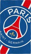 Paris Saint Germain Strandlaken Cropped - 70 x 120 cm - Blauw