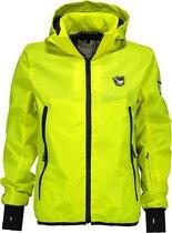 SuperRebel Jongens reflective jacket - yellow reflective - Maat 152