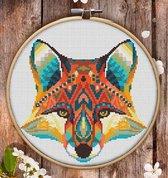 Borduurpakket Mandala Vos (FOX)