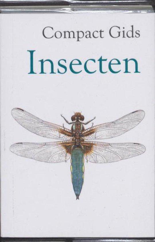 Boek cover Compact Gids Insecten van Scribent (Paperback)