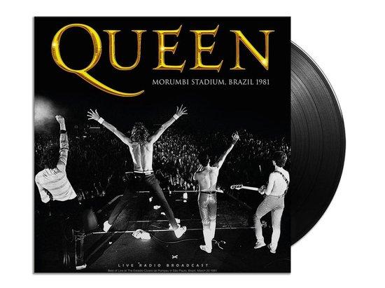 CD cover van Live At Morumbi Stadium, Brazil 81 van Queen