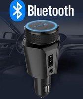Bluetooth FM Transmitter - Handsfree Bellen - Muziek Streamen - AUX Aansluiting - Gratis AUX Kabel - Voice Navigatie - Telefoon Opladen - Draadloze Auto Carkit - 1 USB Aansluitingen - Microfoon - SD Kaart - Smartphone/Iphone/Samsung/Huawei
