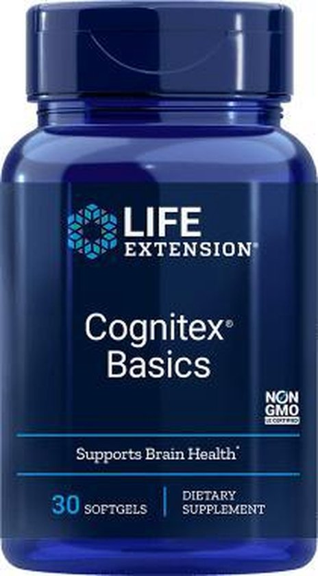 Life Extension Cognitex Basics - 30 soft gels