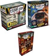 Escape Room Spelvoordeelset Inclusief basisspel Escape Room The Game Basisspel 2 & Escape Room The Game: VR & Uitbreidingsset Escape Room The Game Murder Mystery