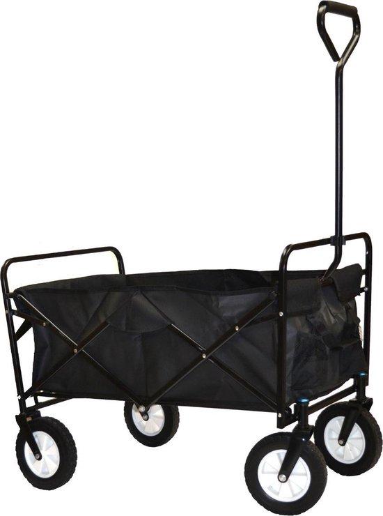 Product: Opvouwbare Bolderkar/Bolderwagen - Zwart, van het merk Season Discount Market