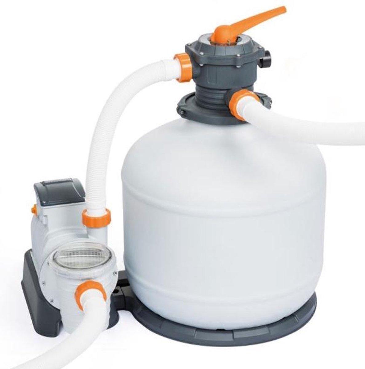 Bestway Flowclear zandfilter 9,8 m³/u