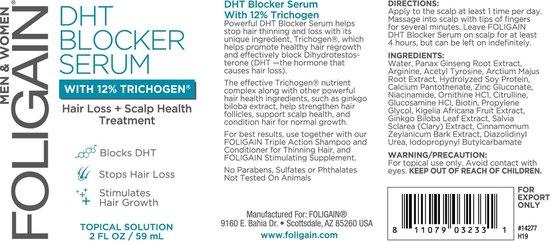 FOLIGAIN – DHT Blocker met 12% Trichogen – 59 ml