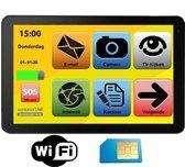 Archos Senioren Tablet met sound dock 4G