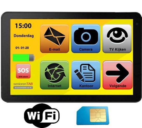 Archos Senioren Tablet met soud dock 4G