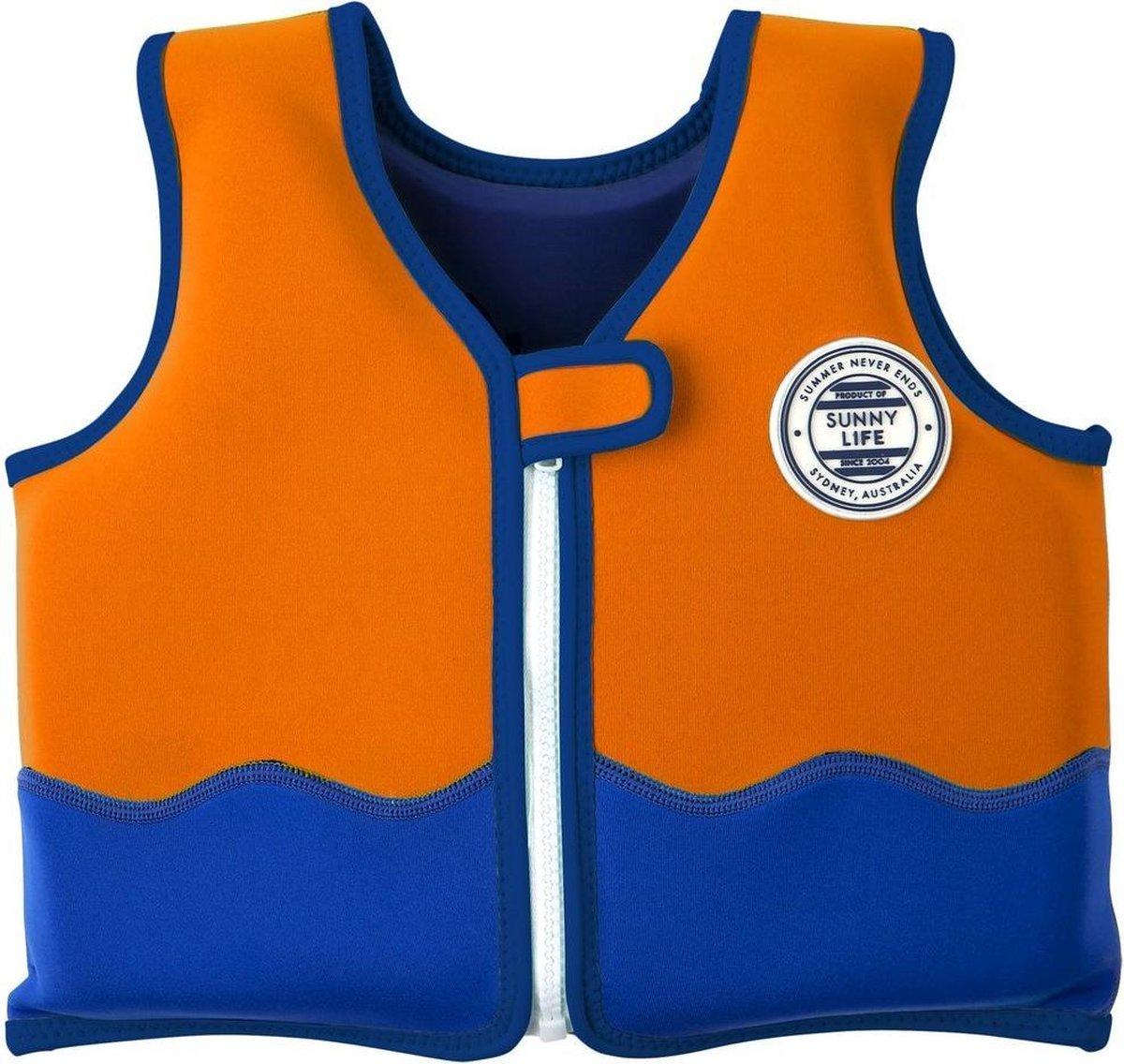 Sunnylife Kinderzwemvest Sharky 2-4 jaar