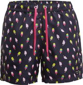 Bjorn Borg Heren Zwemshort LOOSE SHORTS SYLVESTER  - Donkerblauw - Maat L