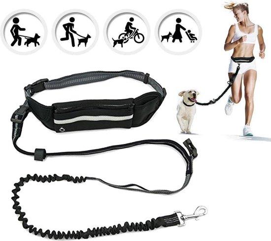Fit Evolve Handsfree hondenriem - Sport Heupband - Hardloopband Telefoon - Sportband - hardloopriem hond