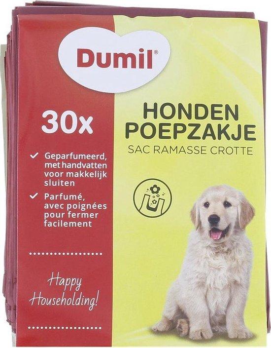 Hondenpoep zakjes | Poepzakjes | Geparfumeerd hondenpoepzakjes met handvatten |