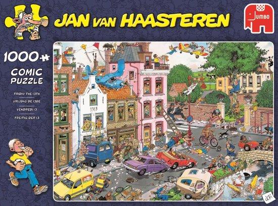 Jan van Haasteren Vrijdag de 13e puzzel - 1000 stukjes - Jan van Haasteren