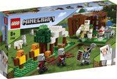 LEGO Minecraft De Pillager Buitenpost - 21159
