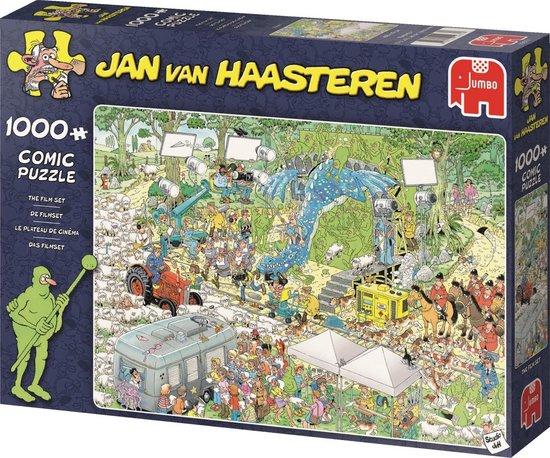Jan van Haasteren De Filmset puzzel – 1000 stukjes