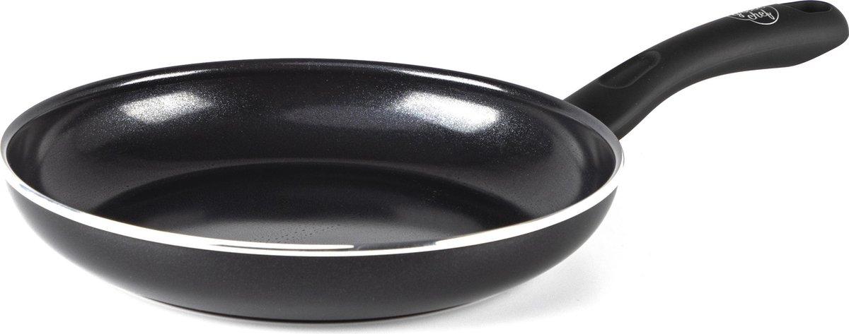 GreenChef Diamond Inductie Koekenpan -  28 cm - keramisch - zwart