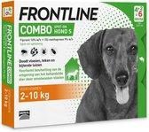 Frontline Combo - Anti vlooienmiddel en tekenmiddel - 2  Tot 10 Kg - Hond - 6 pipetten