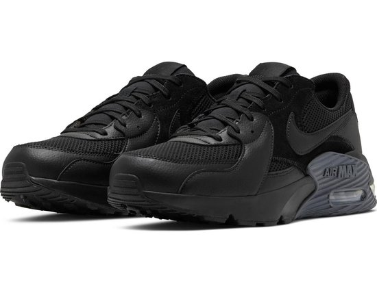Nike Air Max Excee Heren Sneakers - Black/Black-Dark Grey - Maat 46