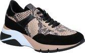 Tamaris Sneakers beige slangenprint - Maat 38