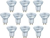 10 stuks Osram LED GU10 8W/827 36º Dimbaar