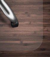 Swilix Vloerbeschermer - Bureaustoelmat PVC - Voor Harde Vloeren - 120x150cm - Transparant