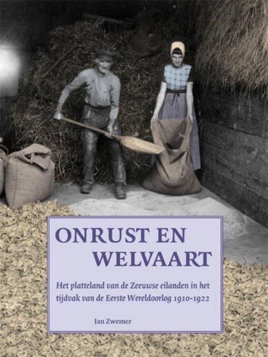 Onrust en welvaart - Jan Zwemer  