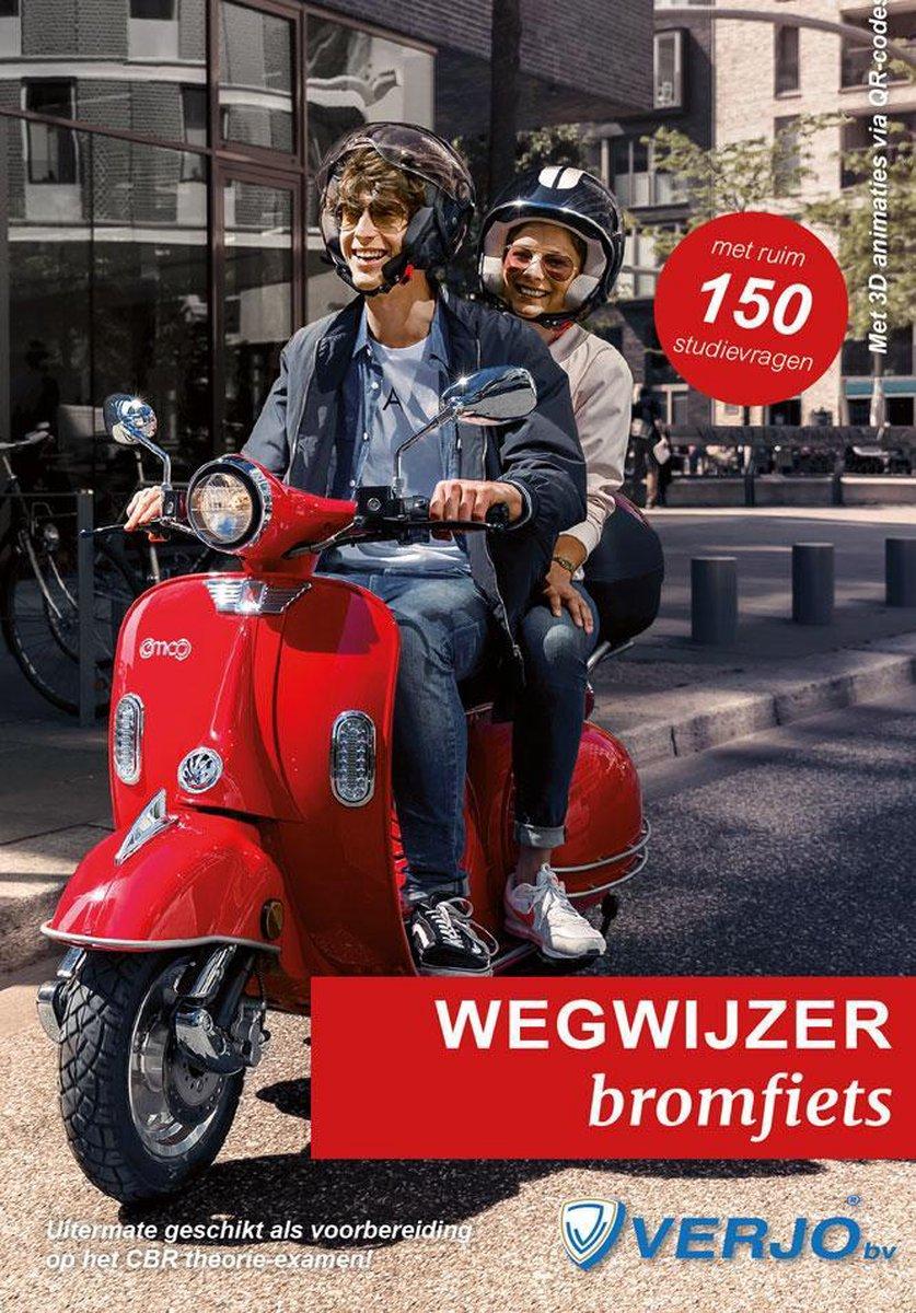 Theorieboek AM Wegwijzer in het verkeer bromfiets