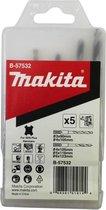 Makita Boren set voor hout en metaal SDS plus, 5 stuks