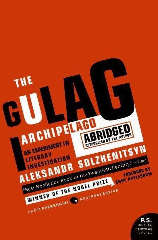 Boek cover The Gulag Archipelago 1918-1956 van Aleksandr Solzhenitsyn (Paperback)