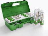Zwaluw Den Braven All-Inn-One Hybride Kit   Geleverd in smartbox met 12 kokers