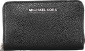 Michael Kors Jet Set SM ZA Dames Card Case - Zwart