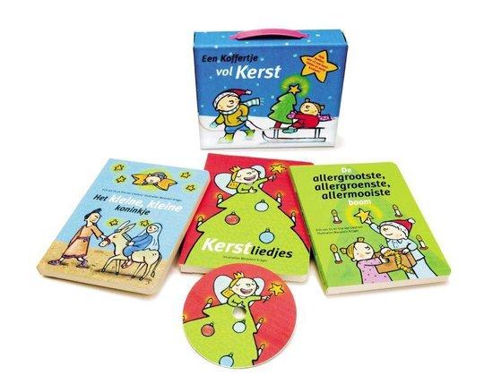 Een Koffertje Vol Kerst Met 3 Boekjes 1 Cd En Kerstknutsels - Erik van Os |