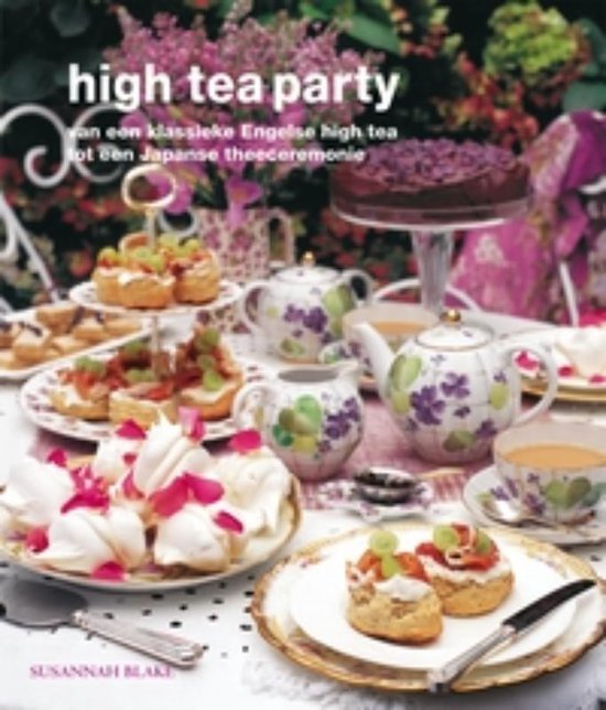 Boek cover High Tea Party van Susannah Blake (Paperback)