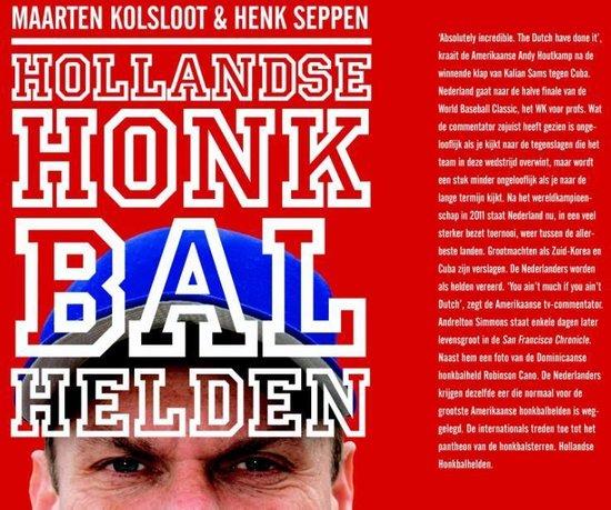 Cover van het boek 'Hollandse Honkbalhelden'
