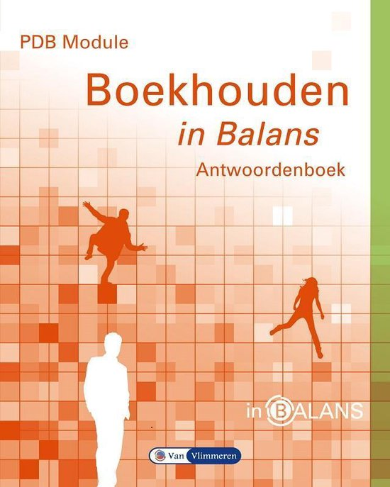 PDB module boekhouden in balans - Sarina van Vlimmeren   Fthsonline.com