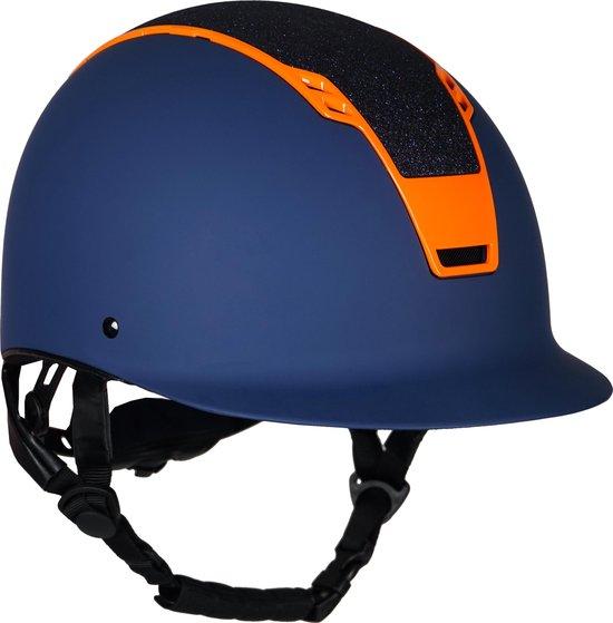 Horka Ruitercap Sparrow Unisex Blauw/oranje Maat S/m