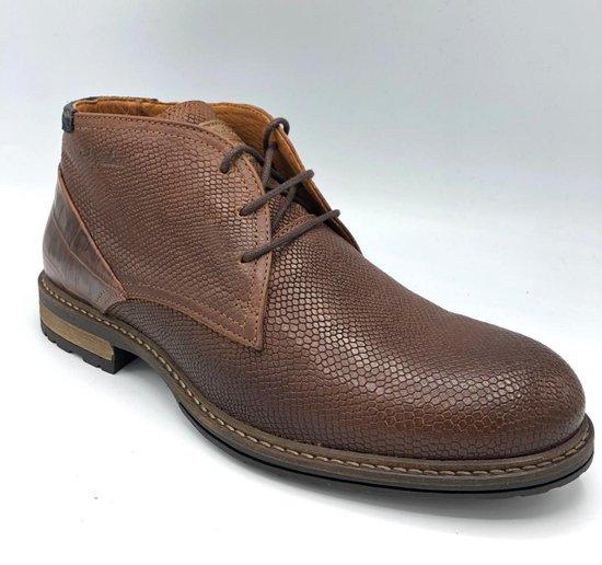 Australian Jersey Leather Tan-Choco - Maat 45