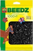 SES Beedz Strijkkralen - 1000 Stuks - Zwart (00706)