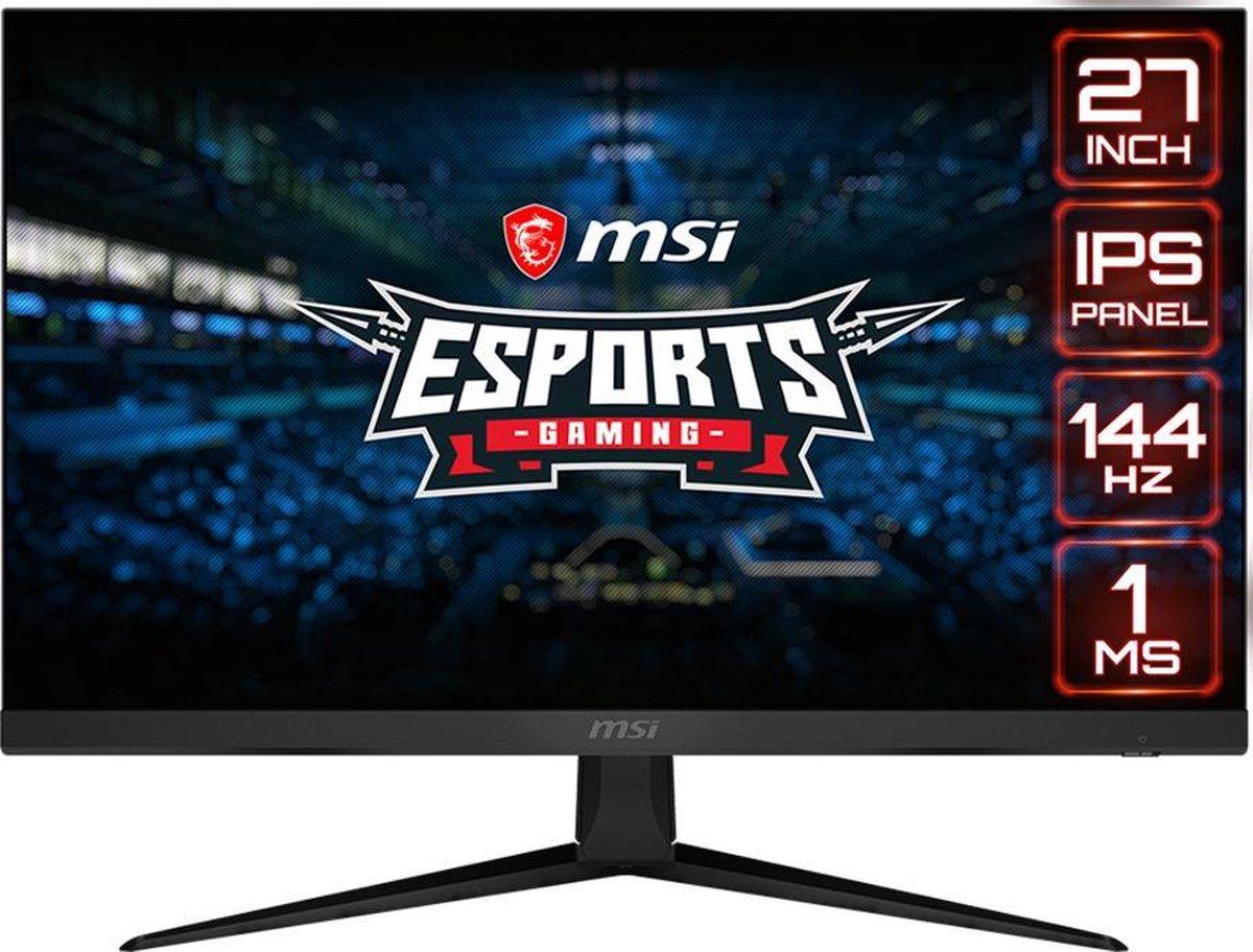 MSI Optix G271 - Full HD IPS Gaming Monitor - 144hz - 27 inch